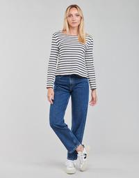 textil Dame Lige jeans Pepe jeans DOVER Blå / Medium
