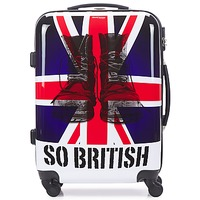 Tasker Hardcase kufferter David Jones UNION JACK 53L Flerfarvet