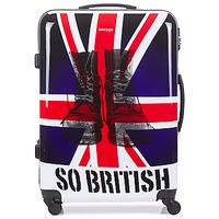 Tasker Hardcase kufferter David Jones UNION JACK 83L Flerfarvet