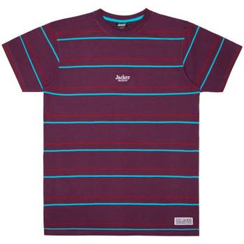 textil Herre T-shirts m. korte ærmer Jacker Rtk stripes Violet