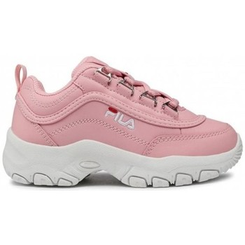 Sko Børn Lave sneakers Fila Strada Kids Hvid, Pink