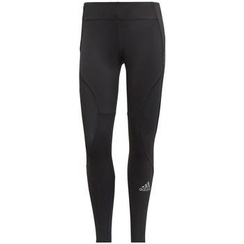 textil Dame Leggings adidas Originals Primeblue Fast Running W Sort