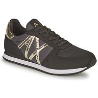 Sko Dame Lave sneakers Armani Exchange HALOISE Sort / Guld