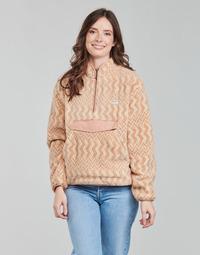 textil Dame Fleecetrøjer Rip Curl DRIFTER POLAR FLEECE Fersken