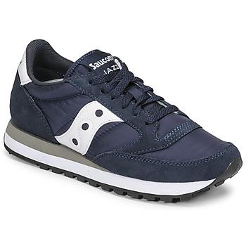 Sko Lave sneakers Saucony JAZZ ORIGINAL Marineblå / Hvid