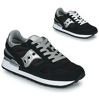 Sko Dame Lave sneakers Saucony SHADOW ORIGINAL Sort / Sølv