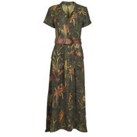 textil Dame Lange kjoler Desigual AMSTERDAM Kaki