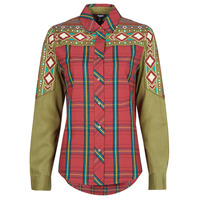 textil Dame Skjorter / Skjortebluser Desigual LOTTIE DOD Flerfarvet