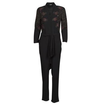 textil Dame Buksedragter / Overalls Desigual NIAGARA Sort