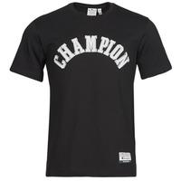 textil Herre T-shirts m. korte ærmer Champion 216575 Sort