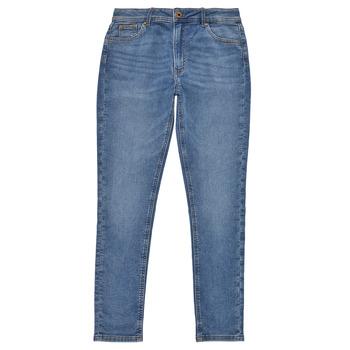 textil Pige Jeans - skinny Pepe jeans PIXLETTE HIGH Blå