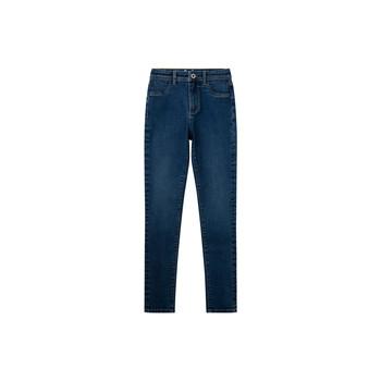textil Pige Jeans - skinny Pepe jeans MADISON JEGGIN Blå