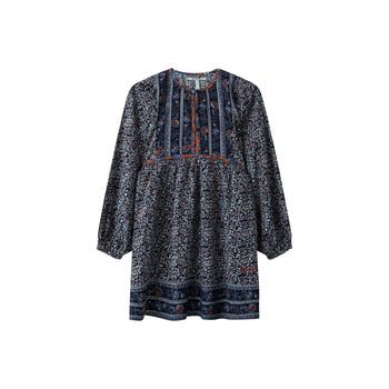 textil Pige Korte kjoler Pepe jeans SUSA Flerfarvet