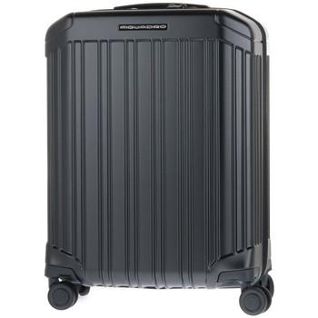 Tasker Herre Hardcase kufferter Piquadro NO TROLLEY CABINA 4 RUOTE Nero