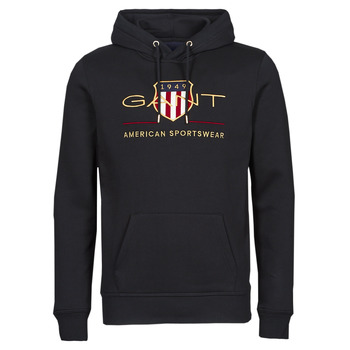 textil Herre Sweatshirts Gant ARCHIVE SHIELD HOODIE Sort
