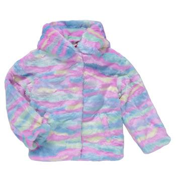 textil Pige Frakker Desigual CONGO Flerfarvet