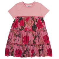textil Pige Korte kjoler Desigual ZAFIRO Pink