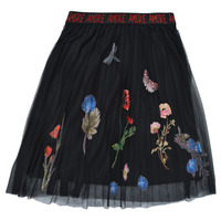 textil Pige Nederdele Desigual ANDREA Sort