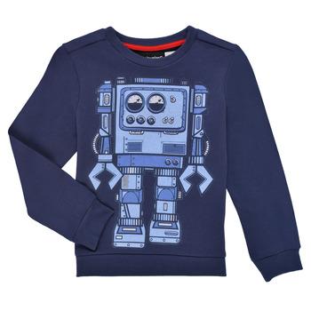 textil Dreng Sweatshirts Desigual ROBLE Marineblå