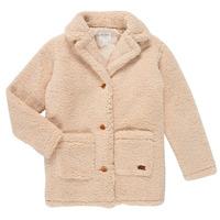 textil Pige Frakker Roxy RUNAWAY BABY Hvid