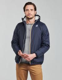 textil Herre Jakker K-Way LE VRAI 3.0 CLAUDE ORSETTO Marineblå