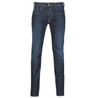 textil Herre Smalle jeans Replay ANBASS Blå / Mørk
