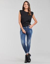 textil Dame Jeans - skinny Replay LUZIEN Blå / Mørk