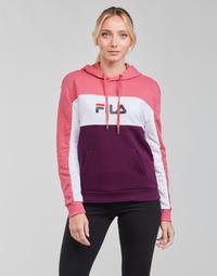 textil Dame Sweatshirts Fila AQILA HOODY Pink / Hvid / Violet