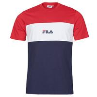 textil Herre T-shirts m. korte ærmer Fila ANOKI Rød / Marineblå / Hvid