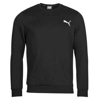 textil Herre Sweatshirts Puma ESS CREW SWEAT FL Sort