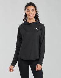 textil Dame Sweatshirts Puma ACTIVE HOODIE Sort