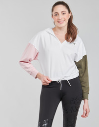 textil Dame Sweatshirts Puma MODERN SPORT HOODIE Hvid / Flerfarvet