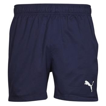 textil Herre Shorts Puma ESS ACTIVE WOVEN SHORT Marineblå