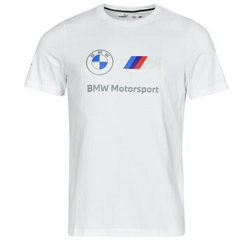 textil Herre T-shirts m. korte ærmer Puma BMW MMS ESS LOGO TEE Hvid