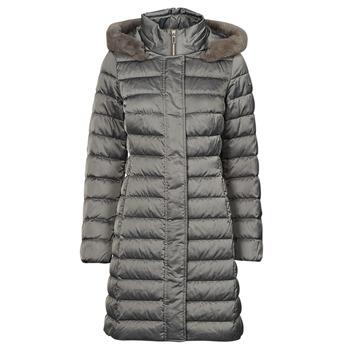 textil Dame Dynejakker Geox W BETTANIE LONG JKT Sølv