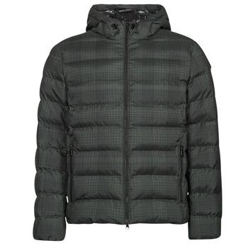 textil Herre Dynejakker Geox SANDFORD Sort / Kaki