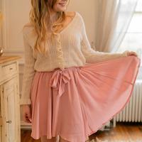 textil Dame Nederdele Céleste EGLANTINE Pink