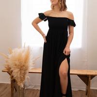 textil Dame Lange kjoler Céleste PATCHOULI Sort