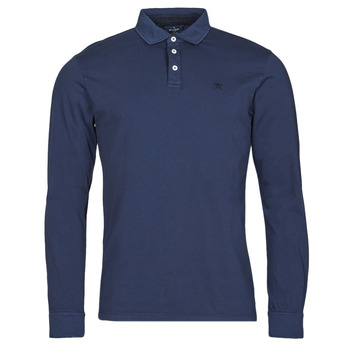 textil Herre Polo-t-shirts m. lange ærmer Hackett HM550879 Blå