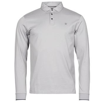textil Herre Polo-t-shirts m. lange ærmer Hackett HM550880 Grå