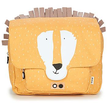 Tasker Børn Skoletasker TRIXIE MISTER LION Gul