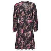 textil Dame Korte kjoler One Step FT30101 Sort / Flerfarvet