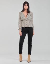 textil Dame Lige jeans Freeman T.Porter ALEXA STRAIGHT S-SDM Sort