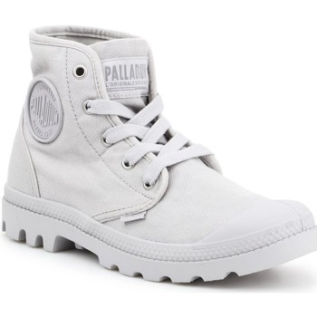 Sko Dame Høje sneakers Palladium US PAMPA HI F Vapor 92352-074-M grey