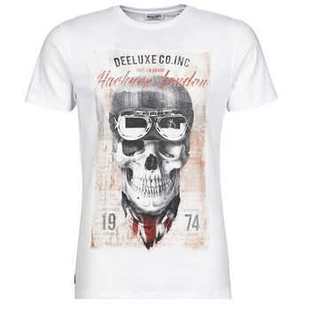 textil Herre T-shirts m. korte ærmer Deeluxe CLEM Hvid