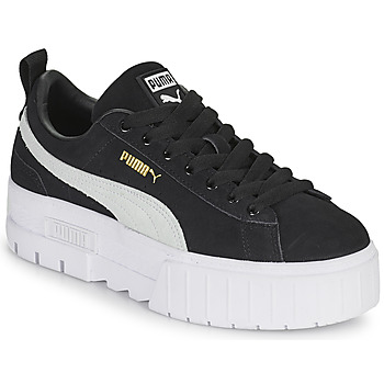 Sko Dame Lave sneakers Puma MAYZE Sort / Hvid