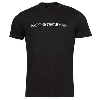 textil Herre T-shirts m. korte ærmer Emporio Armani 8N1TN5 Marineblå