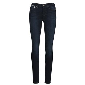 textil Dame Smalle jeans Only ONLISA Blå / Mørk