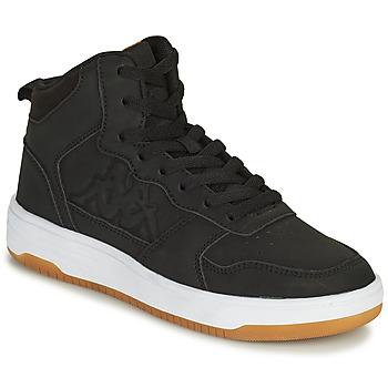 Sko Dreng Høje sneakers Kappa SEATTLE MID Sort