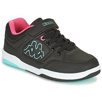 Sko Pige Lave sneakers Kappa KASH LOW EV Sort / Blå / Pink